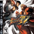 street fighter IV ps3 game