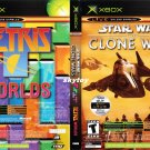 tetris worlds star wars clone wars xbox game new