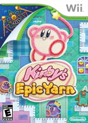 kirby epic yarn wii