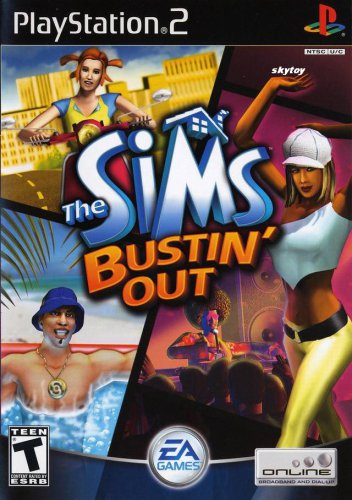 sims bustin out ps2