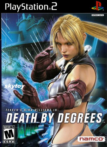 death by degrees ps2 with tekken 5 demo disc