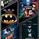 batman dvd collection 4 films new