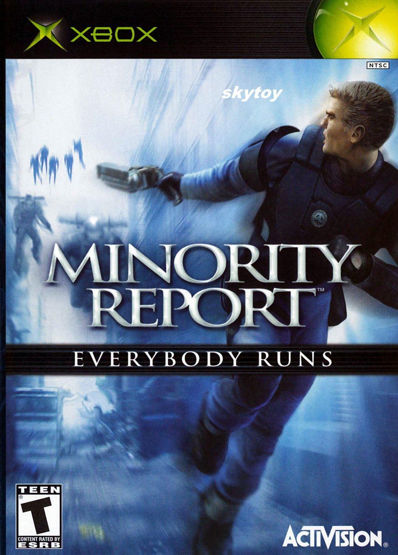 minority report xbox game