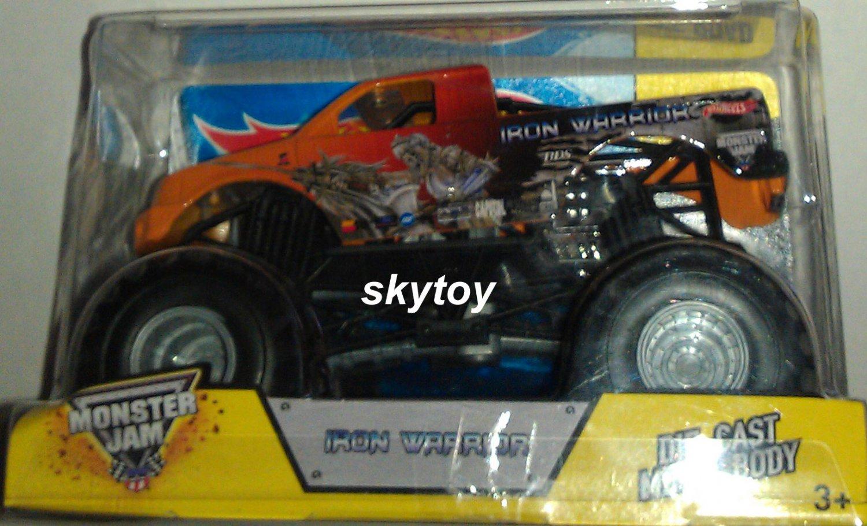 Hot Wheels Monster Jam Iron Warrior Die-Cast Vehicle misb