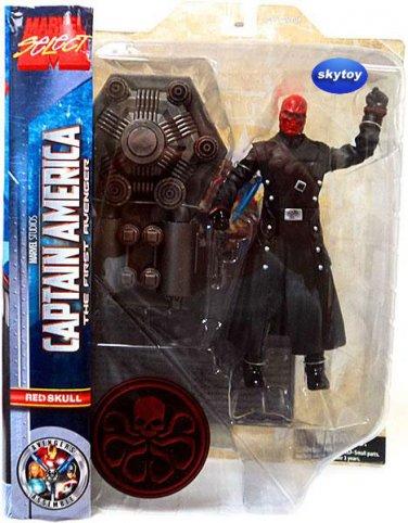 Marvel Select Captain America The First Avenger Red Skull Figure