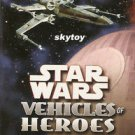 star wars vehicles of heroes playing card misb