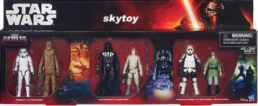 star wars epic battles 6-pack exclusive figures