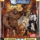 dc universe classics clayface and batman figures