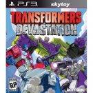 transformers devastation ps3 new