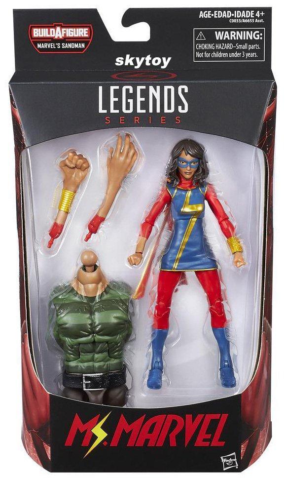 Marvel Legends Ms Marvel Spiderman figure