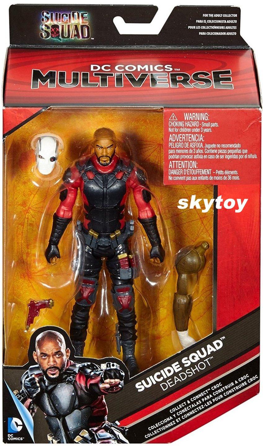 DC Comics Multiverse Suicide Squad Deadshot 6 inch Figure