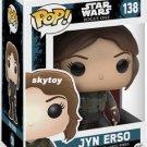 Funko - POP! Star Wars Rogue One: Jyn Erso