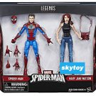 Marvel Legends Spider-Man and Mary Jane Watson