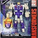 Transformers Generations Voyager Titans Return Blitzwing and Hazard