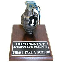 Complaint Department Grenade