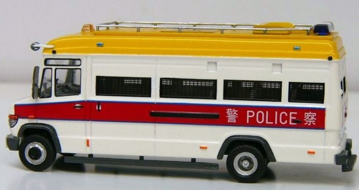 Hong Kong Airport Police Tactical Unit van