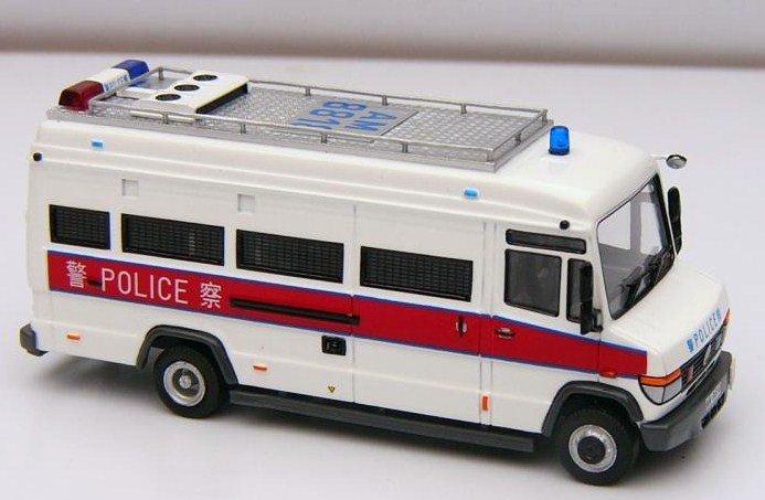 Hong Kong Police Tactical Unit van