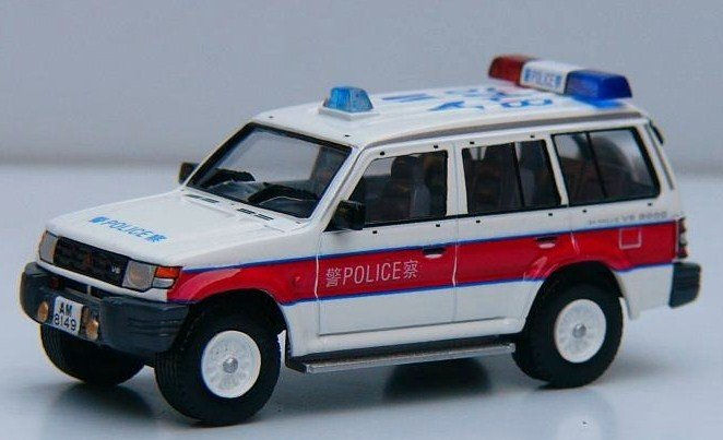 Hong Kong Police Patrol car (Traffic Department)