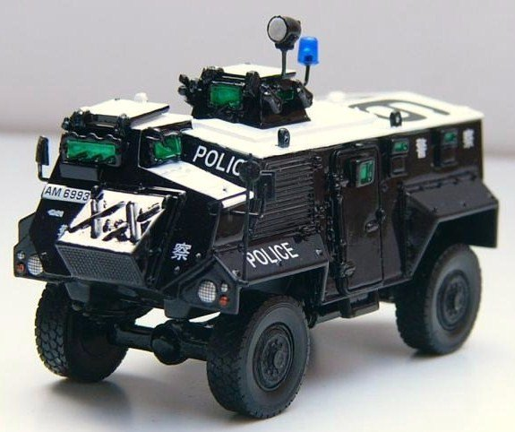 Hong Kong Police Armored Car