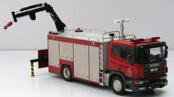 Hong Kong Fire Rescue Tender