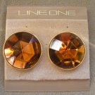 LINE ONE 80's Vintage Autumn/Fall Post Earrings