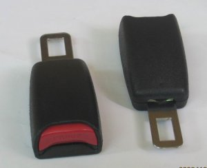 2x Seat Belt Extender Extension 5 Inch For 7/8inch Buckle free ship 7-10DAYS ARRIVE USA