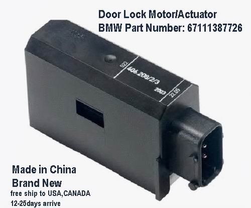 BMW Front Door Lock Actuator e34 M5 540i 535i 530i 525i free ship