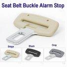 "Seat Belt Buckle Alarm Stop for 7/8"" Buckle BLACK COLOR  FREE SHIP7-10days arrive USA"