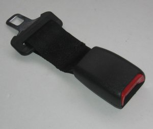 "New 220mm ( 8.5"")Seat Belt Extension Extender 1"" Buckle free ship to usa 7-10 days arrive"