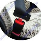 "2 Clip Seat Belt Extender Extension 1""Wide Buckle Beige"