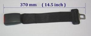 Hyundai Santa / elantra Seat Belt Extension Extender For 25mm Buckle 14� length