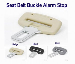 "Seat Belt Buckle Alarm Stop for 7/8""  Buckle 3 Colors free ship 7-10 days arrive usa"