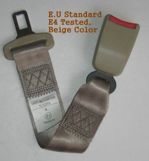 "Seat Belt Extension Extender 7/8"" Buckle E4 Certified"