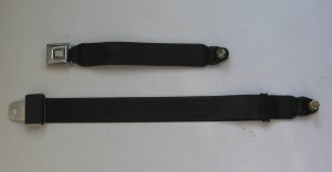 Auto Replacement Lap Seat Belt & Fixing Kit --GM Buckle