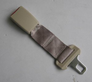 "tan color  Seat Belt Extension For HONDA  CR-V  ACCORD Rear Seat 1"" Wide Buckle free ship to USA"