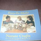 Easy - to - Make Nature Crafts -weekly reader paperback