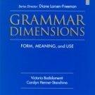 Grammar Dimensions Levl 1 Diane Larsen-Freeman NEW 2000