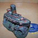 TUGBOAT? SHIPWRECK  Decoration for aquariums NEW