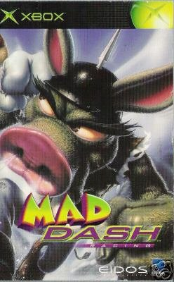 Mad Dash Racing (Xbox) INSTRUCTION MANUAL ONLY not game