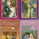 4 Books The Dreamweavers: Gail Douglas loveswept