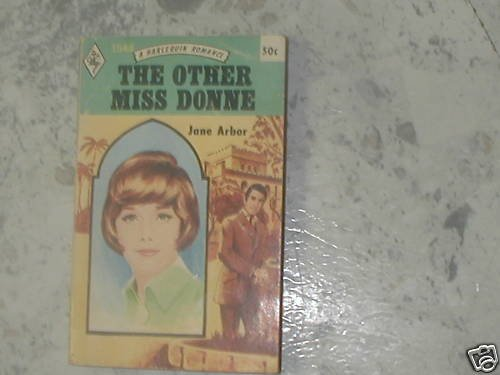 THE OTHER MISS DONNE JANE ARBOR (1971 ) PB