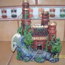MEDIUM BRICK CASTLE RUINS Decoration for aquariums NEW
