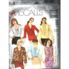 MISSES PETITE TOPS PATTERN McCALL'S LG-XLG