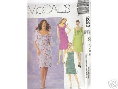 4 style MISSES' DRESSES     McCALL'S PATTERN