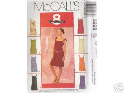 MISSES' PETITE SLIP DRESSES  McCALL'S PATTERN