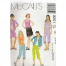 Girls SHIRT-JACKET-TOP-CROPPED PANTS   McCALL'S PATTERN