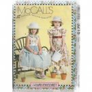 GIRLS' DRESSES & PURSE  McCALL'S PATTERN NEW 6-7-8