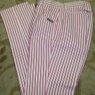 Womens Rockie Mountain Jeans 27/5 x36  Red/White Stripe