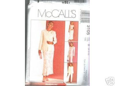 JACKET, TOP, PANTS, BIAS SKlRT McCALL'S PATTERN WOMANS