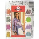 EASY    TOPS  8-VARIATIONS   McCALL'S PATTERN WOMANS